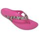 Crocs Kadee II Graphic Sandals Women pink/colourful